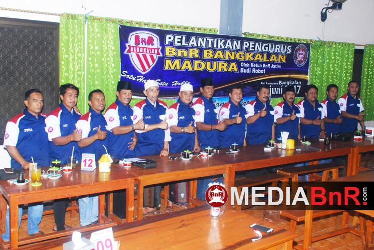 Pengurus BnR Bangkalan Madura sudah terbentuk