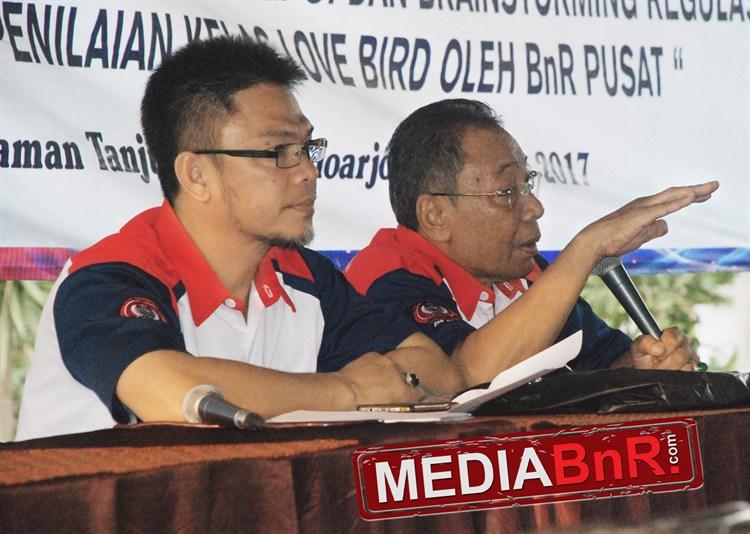 Pengurus BnR pusat Iwan dan H Dodot