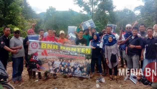 BnR Banten Salurkan Donasi Gelombang 1