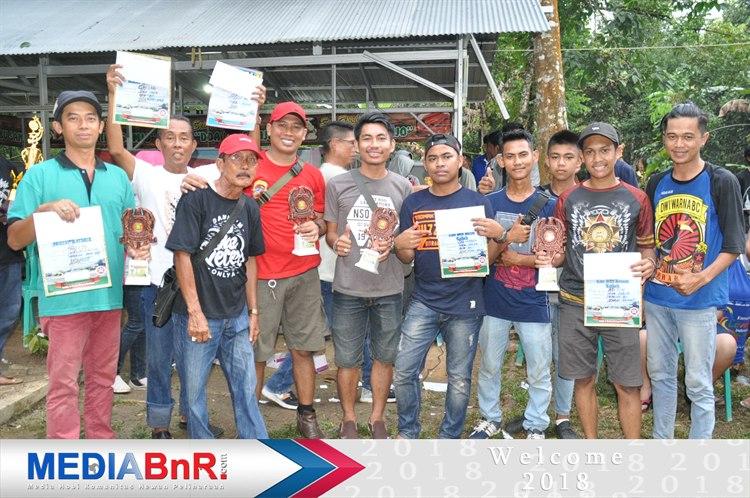 Penobatan Burung Terbaik Bupati Cup 2 Tanjung Kalsel