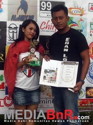 Penyerahan Juara di KLI AE Feat BnR