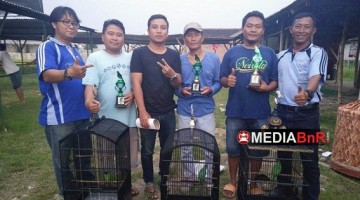 Photas Amunisi Milik Hadi Senat Sapu Bersih Kelas Cucak ijo