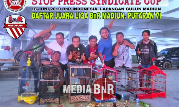 Daftar Juara Latber BnR Madiun, Liga Putaran VI (9/4/2019)