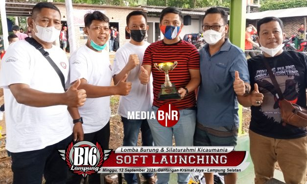 Dua Amunisi Gabat Gibut Bc Torehkan Prestasi Di Soft Launching B16 Lampung