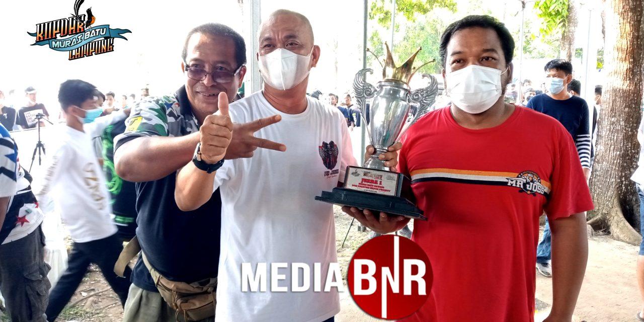 Murai Batu Semar Sakti Juara Kelas Utama Kopdar Murai Batu Lampung