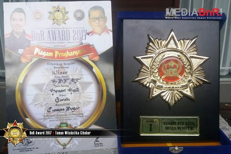 Kenari Besutan KBF Bogor Jadi Jawara Sejati Di BnR Award 2017