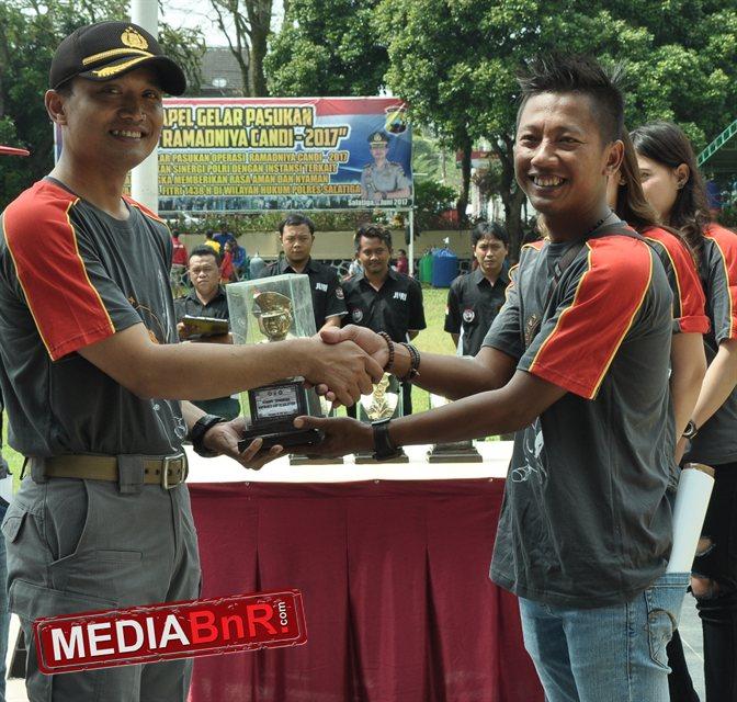 Poer Nasa (kanan), Sukses Mengawal Kapolres Cup Salatiga, Lanjut ke Walikota Cup Salatiga 5 November 2017