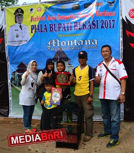 Pogba Raih Runner Up Dikelas Utama Cucak Hijau