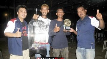 Prabu Team Tangerang meraih juara  umum BC bersama segudang amunisi jawara handalnya