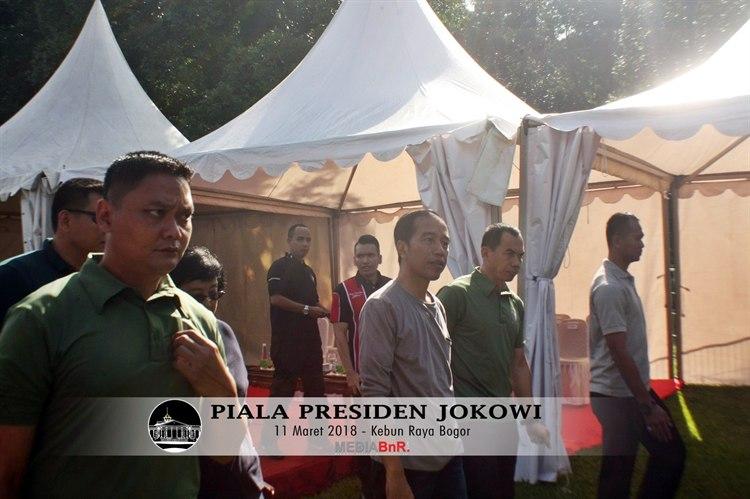 Catatan Bersejarah di Piala Presiden Jokowi di Bogor