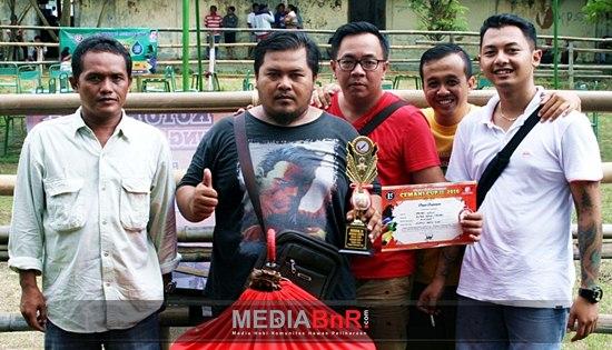 Rinjani Ngedur, King Cetak Hatrik, New Keris Patih dan Aibon Berbagi Juara