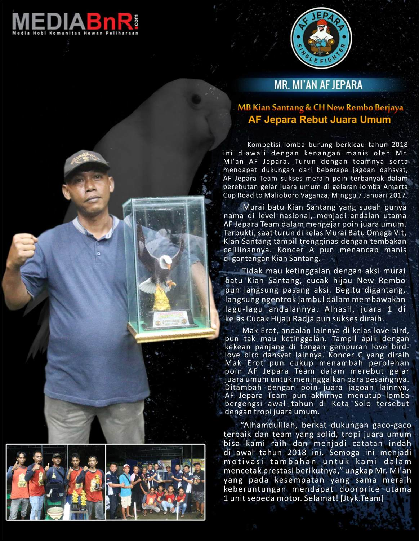 Profil Mr. Mian AF Jepara