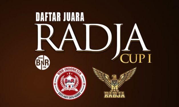 Daftar Juara Radja Cup 1 – 2018