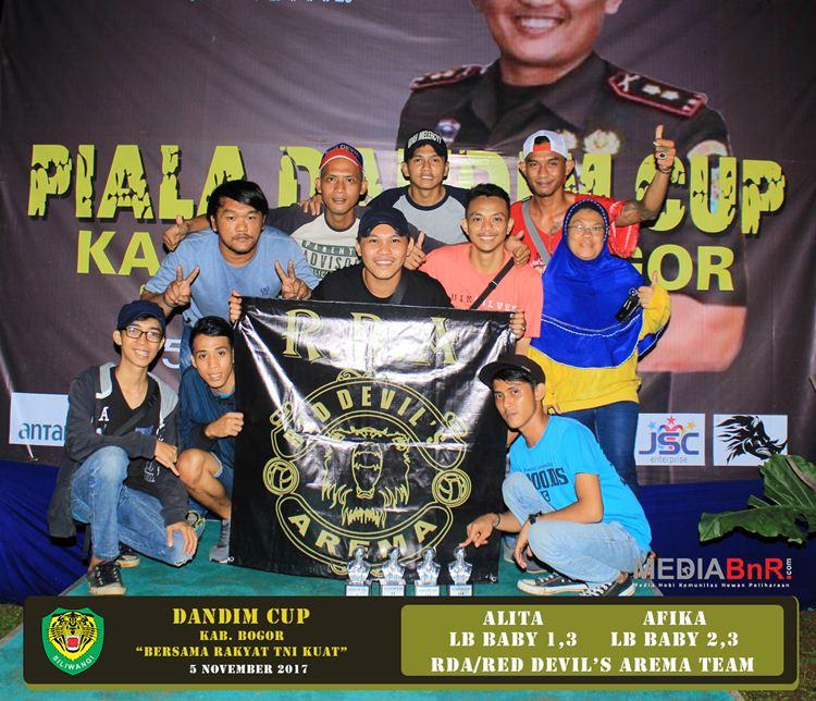 Setelah PKH 2, Red Devil's Arema Kembali Membuktikan Kualitasnya di Dandim Cup Bogor