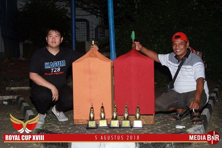 Duet Maut Kacer Raja Tuak dan Raja Geol di Royal Cup Jakarta