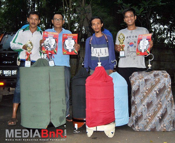 Raja Batak dan Jabrig kembali torehkan prestasi untuk Cipok Team (Foto: Ade/MediaBnR.Com)