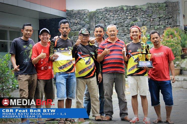 Raja Gosip raih double winner
