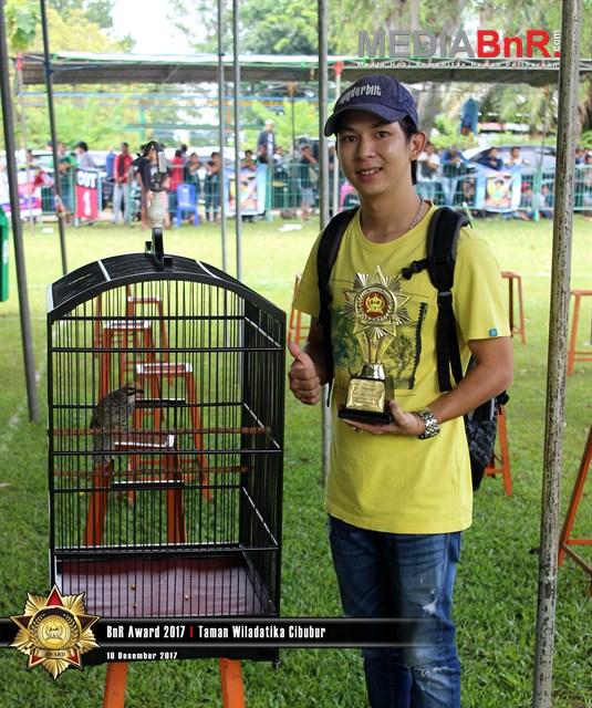 Raja Rimba Ukir prestasi satu di  BnR Award 2017