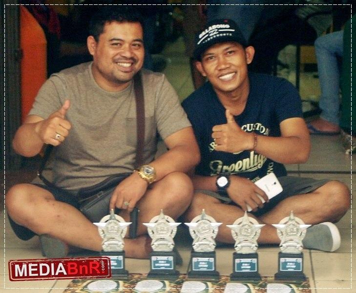 Rama di Road to BnR Award Bandung 4x Juara Satu, 1x Runner Up