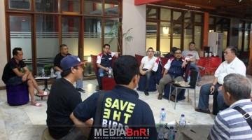 Rapat pengurus BnR di Solok