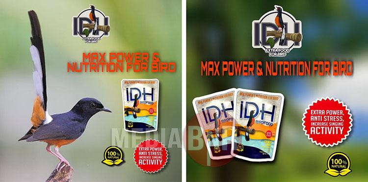 IDH BIRD FOOD PAKAN HARIAN BURUNG BERKUALITAS TINGGI :