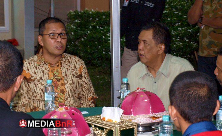 Rocky Majid (kanan) Tokoh Penting dalam Menjembatani Kicaumania dan Pemerintah Kota Makassar
