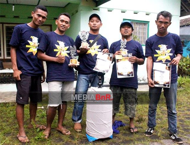 The King Hattrick, Rondo Ngekek Nyeri. Duta Aditya Cup dan Fitri Bks Juara Umum