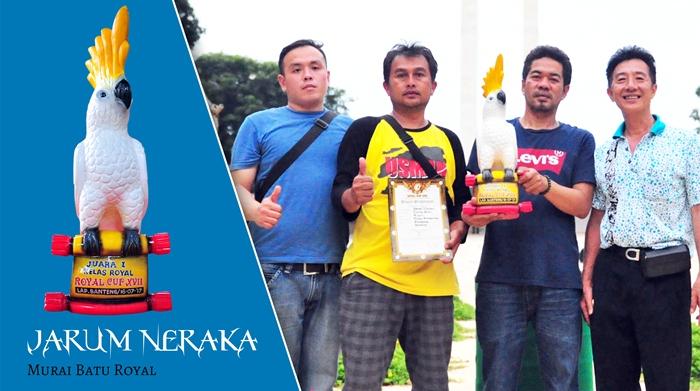 Ronny Burangrang - Bandung rayakan kemenangan Jarum Neraka