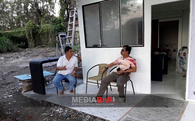 Ruangan yang akan dipakai untuk kegiatan BnR Indonesia Surabaya