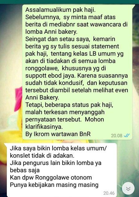 Ronggolawe Nusantara Hanya Hapus Love Bird Umum Di Anny Bakery Karawang