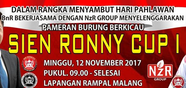 Daftar Juara Sien Ronny Cup 1