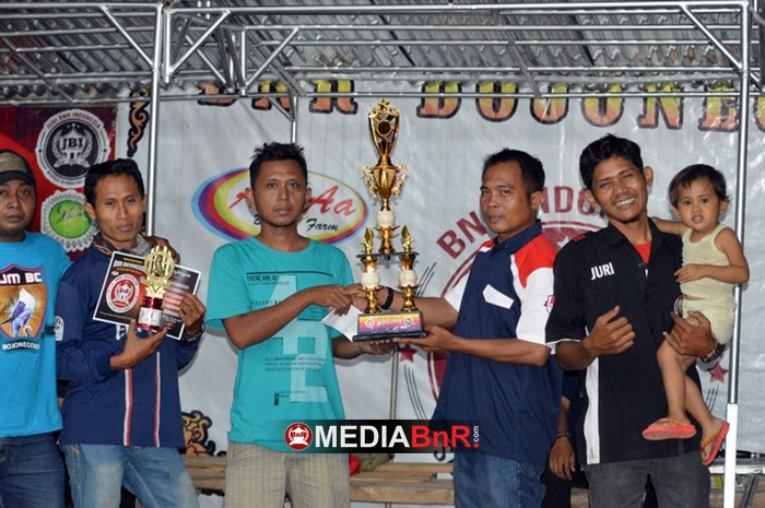 SJM BC juara umum BC-1