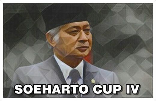 23 Maret Pemesanan Soeharto CUP IV Ditutup