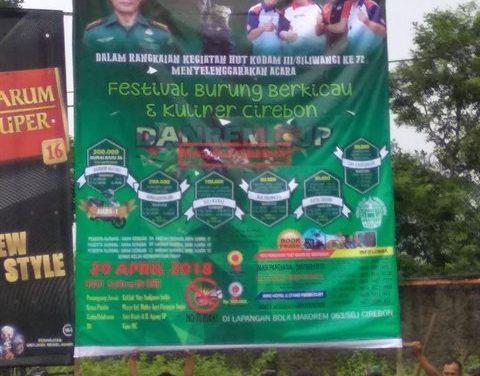 Danrem 063/SGJ Cup Cirebon – Sediakan Tropi Ikonik Disemua Kelasnya. Yakin Tidak Mau Hadir?