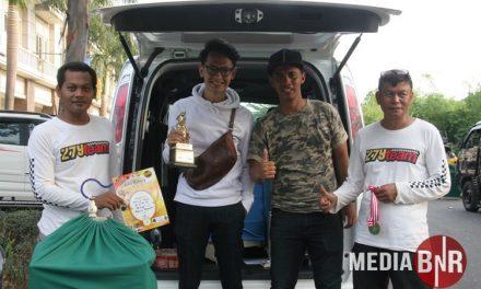 Rendy RPP – Sukses Kawal MB Pangeran & Kacer Marlin di Anni Bakery Bird Champion