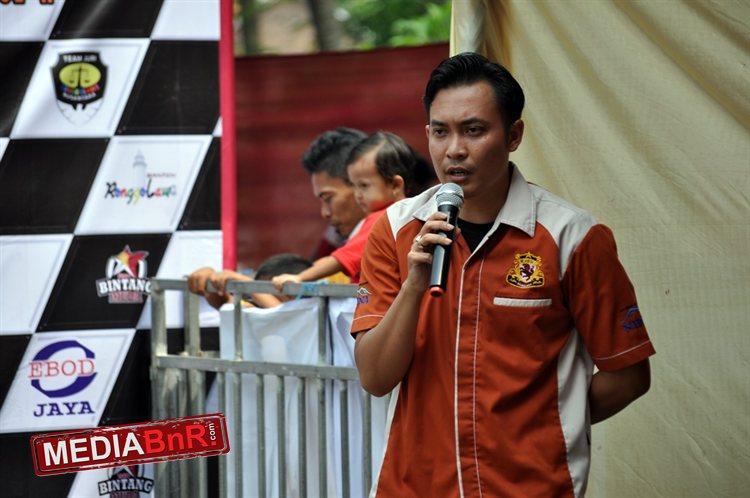 Sambutan Farhan  selaku ketua RN DPW Banten