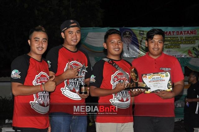 Sarap mendominasi juara pertama, Fitri BKS Juara umum SF