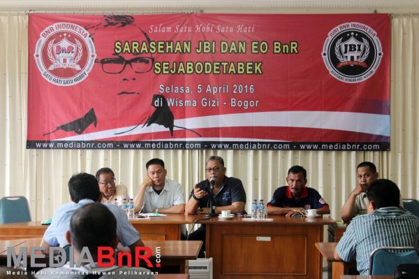 Galeri Sarasehan JBI dan EO BnR Sejabodetabek