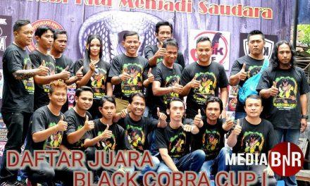 Daftar Juara Black Cobra Plat S Community, Bojonegoro (17/3/2019)