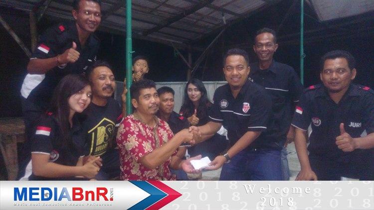 Total Dana Terkumpul + Donatur Pemain Diserahkan Kepada Bapak Suparno