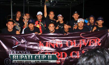 King Oliver Raih Juara BC Bupati Cup II Bogor