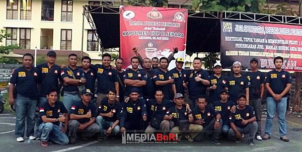 Gelaran Kapolres Cup II Jepara Bersama Ketua PBI Cabang Jepara