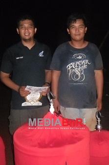 Sentot murai batu Dany dari  New Bie BC Palembang harus puas masuk nominasi di BnR award 2017