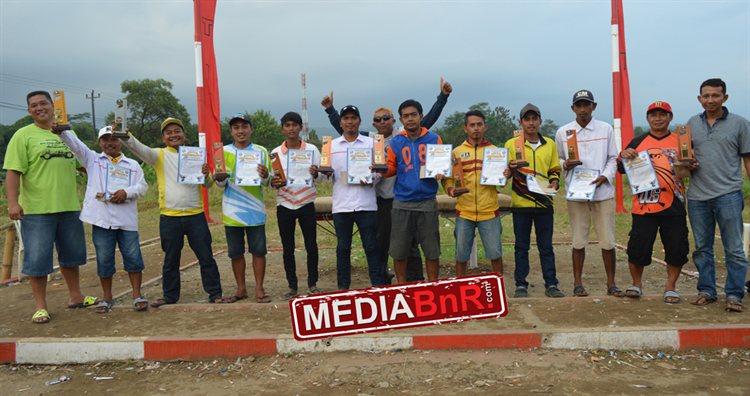 Sepuluh besar juara nasional Anniversary PMTI 2017.