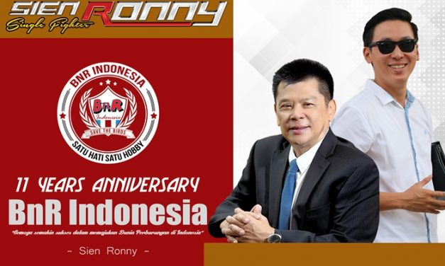 Sien Ronny : Happy 11th Anniversary BnR Indonesia