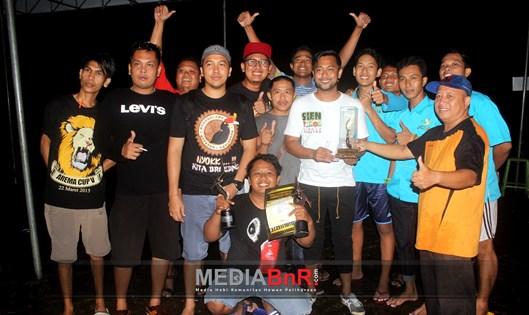 Sien Ronny Juara SF, Bogor Bersatu Team Kembali Raih Juara BC