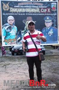 Silaturahmi Abun Sony Ketua BnR Singkawang (Foto: Ikrom/MediaBnR.Com)