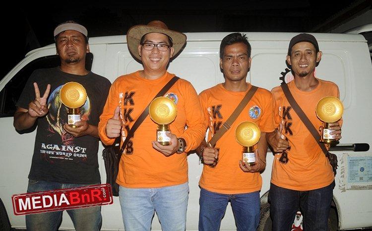 Silaturahmi Ade 'Jalal' Sulistiyo  KKLB Bandung ke Kings Ent. Karawaci