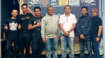 Silaturahmi H. Asep Ketua RI Subang dan H. Mungin Ketua JBI BnR Jabar HL