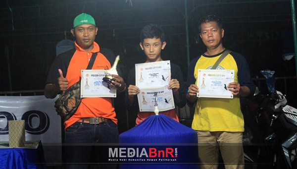 Sincan milik Agus Permata SF raih runner up